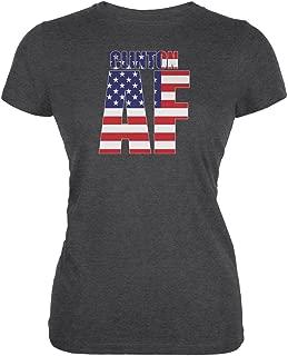 Election 2016 Hillary Clinton AF Dark Heather Juniors Soft T-Shirt
