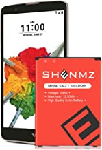 LG Stylo 2 Battery,SHENMZ [3300mAh] Battery Replacement for LG Stylo 2 Plus MS550 K550 LS775 LTE| LG BL-45B1F Spare Battery