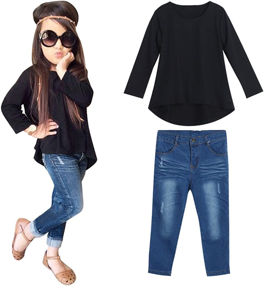 Arystk Baby Boys Overalls Children Toddler Kid Sleeveless Suspenders Denim Pants Clothes