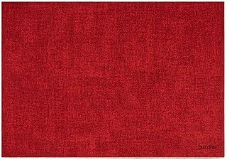 Guzzini Set DE Table Doubleface Fabric Tiffany, PU, Red, 43x30