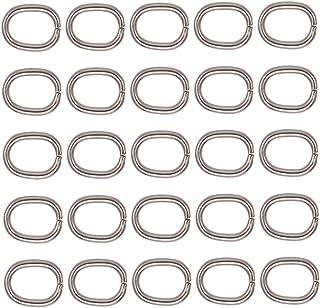 Y01985 Charming Beads Pacco 100 Argento Acciaio Inossidabile 1 x 7mm Anellini Aperti