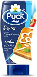 Puck Cream Cheese Spread Squeeze Bottle Creamy Texture , Natural & Fresh , Healthy & Delicious - 400g