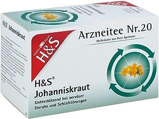 H&S hierba de San Juan filtros con varias capas 20 unidades