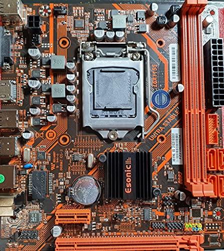 Placa base H61 Socket LGA 1155 - Para procesadores Intel i3/i5/i7 2 y 3 generación - HDMI - VGA - Placa base