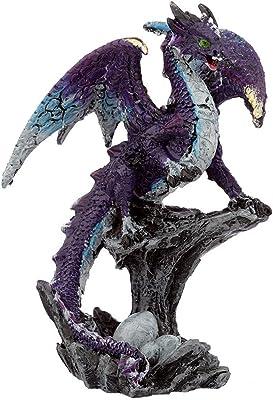 Puckator Guardian Mother Dark Legends Dragon Figurine x 1, Height 9.5-10.5cm Width 5-9cm Depth 5-6cm, Multi