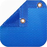 International Pool Protection Pack COBERTOR TÉRMICO DE 600 MICRAS (8x4m) + ENROLLADOR TELESCÓPICO DE 81mm.