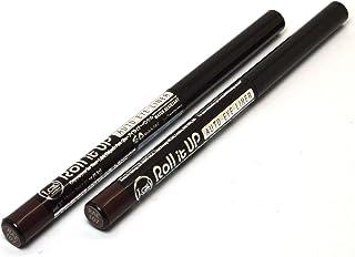 Jcat Beauty 2pcs x RAE107 Brown Roll it Up Eye Liner Eyeliner Pencil + Free Zipbag