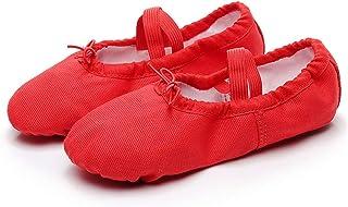 QHGao Kinderdoek hoofd dansschoenen, kat klauw schoenen, dansschoenen, yoga-schoenen, balletschoenen, die duurzamer zijn e...