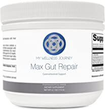 L-Glutamine with Aloe- Max Gut Repair- Support for Mucosal Lining, Leaky Gut and GI Health- Promotes Healthy Gut Microflora- Pharmaceutical Grade- 30 servings 6.1 oz (174 g)