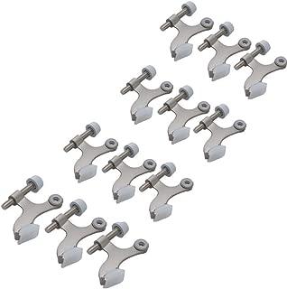 12-pack Hinge Pin Satin Nickel Heavy Duty Door Stops - 12 High Quality Hinge Pin Door Stop Hardware