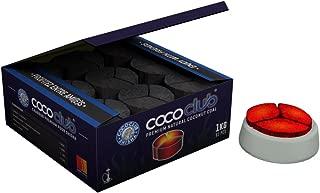 Coco Club carbón Shisha Natural–ideal Kaloud Shisha–1kg 81triángulos