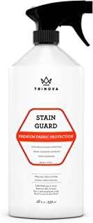 TriNova Stain Guard - Non-Aerosol, Non-Flammable Fabric Protector Spray for Upholstery Protection. Repellent Safe for Your Couch Sofa Furniture Shoes Carpet and More (18oz)