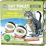 Ducomi - KatWC - Training Kit pour Dressage Chats - Addroyer Le Chat à Utiliser la Toilette - Alternative à la litière Chats -...