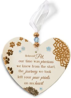 Pavilion Gift Company 19039 Light Your Way Memorial Beloved Pet Plaque, 4-Inch