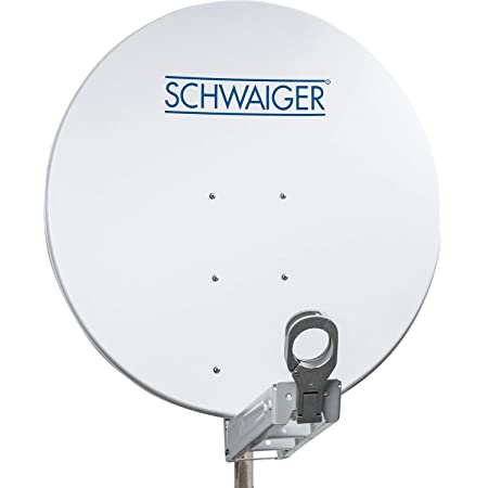 Schwaiger Spi085pw011 Aluminium Offset Antenne 85 Cm Elektronik
