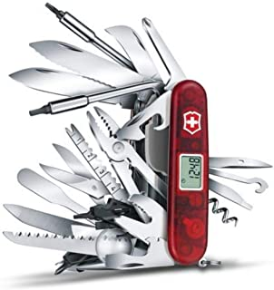 Victorinox 1.6795.XAVT Swiss Army Swisschamp Xavt Pocket Knife,Multi