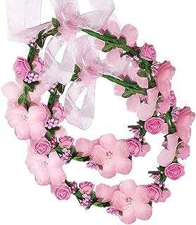 floral wreath headpieces