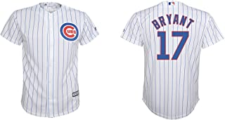 Majestic Kris Bryant Chicago Cubs White MLB Youth Cool Base Replica Home Jersey