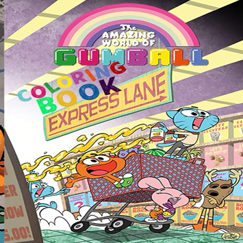 The Amazing World Of Gumball: Coloring Book For Gumball's Amazing World For Kids