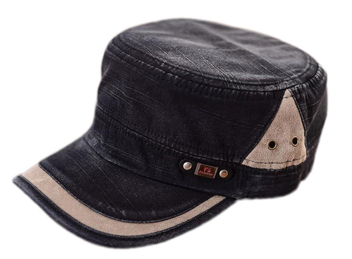 運河ほとんどの場合マニュアルC-Princessワークキャップ UVカット 帽子 野球帽 ミリタリーキャップ アーミーキャップ レディース アウトドア 紫外線対策 (Cブラック)