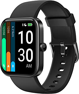 YAMAY Smart Watch for Android Phones Compatible with iPhone Samsung 2021 Ver., Watch for Men...
