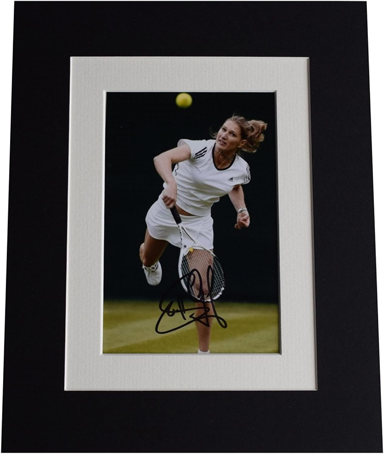 Sportagraphs Steffi Graf Signed Autograph 10x8 photo display Tennis Champion AFTAL & COA PERFECT GIFT