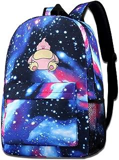 Majin Snorlax Shoulder Bag Fashion School Star Printed Bag