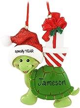 Kurt Adler Turtle Christmas Ornament for Personalization