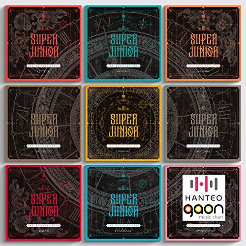 Super Junior (スーパージュニア) - The Renaissance(Square style) [Random ver.] (The 10th Album) [予約限定特典提供] CD+フォトブック+折りたたみポスター+Others with Tracking+追加 フォトカード, ステッカー