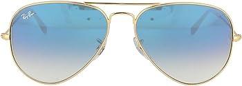 Ray Ban Men's Aviator Gold Classic Sunglasses