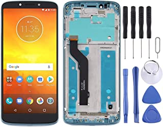 Mobile Phones Communication Accessories LCD Screen and Digitizer Full Assembly with Frame for Motorola Moto E5 Plus (Color...