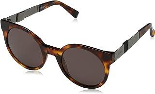 نظارة شمسية ام ام كوزي 9O 807 56 للنساء من ماكس مارا، لون اسود / رمادي