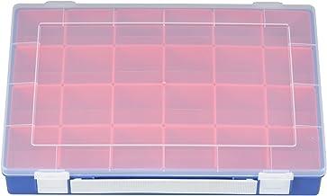 Hünersdorff Cajas de surtido PP PREMIUM, 24 Cajas insertables con mango, azul, 225x335x55 mm