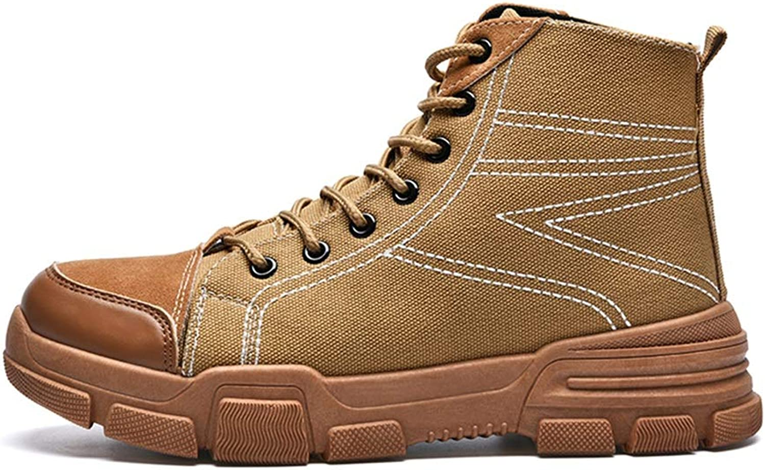 Easy Go Shopping Herrenmode Winterstiefel Casual Youth Youth Youth Klassisch Britisch Stil High Top Dick Ferse Schuhe,Grille Schuhe  c11ceb