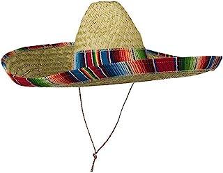 Jacobson Hat Company Mexican Sombrero Hat Adult Costume Spanish Fiesta  Cinco de Mayo Festive Salsa d080ef99dc0d