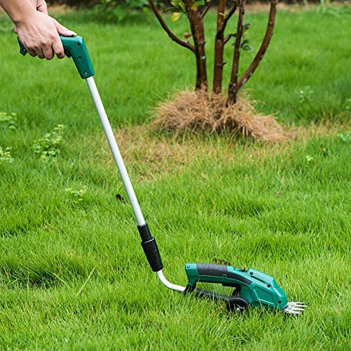 Why Choose 2-in-1 Electric Handheld Lawn Mower - Cordless Portable Garden Pruning Tool Hedge Shrub T...