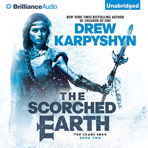 The Scorched Earth audiobook cover art