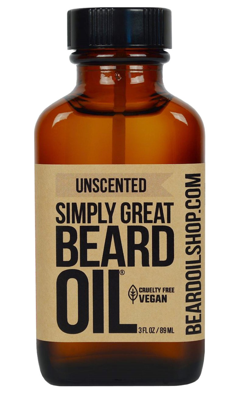 Ranking TOP1 Simply Great Beard Oil Con Outstanding Scented UNSCENTED -