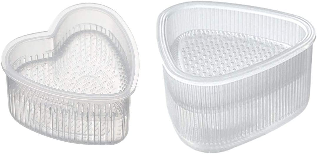 PZRT 2pcs Rice Ball Mold Food New popularity Sushi Maker Form DIY Press Recommendation To