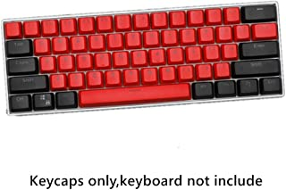 CORN 61 Key Layout OEM Profile PBT Thick Keycaps for 60% Mechanical Keyboard for RK61,GANSS ALT61,IKBC Poker,Anne PRO,GH60...