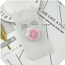 Case for iPhone 4 4S SE 5 5S 5C 6 6S 7 8 Plus X XR XS Max Squishy Cat Cover Mobile Phone Bags,HuXu Clear Cat,for iPhone 7,HuXuBlack,foriPhone5S,HuXuClearFoot,foriPhone44S