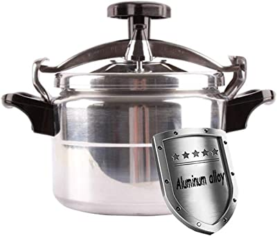 Explosion-proof mini pressure cooker,stainless steel composite bottom,with elastic beam configuration,induction cooker gas universal cooking cookware 2L-3L (Color : Silver, Size : 3L)