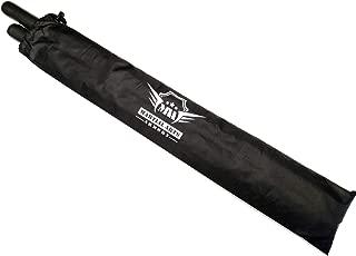 AWMA Foam Escrima Sticks with Armory Case - Pair (Black)