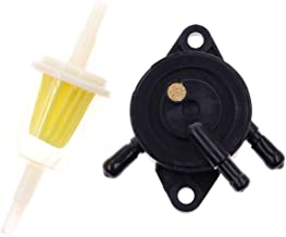 Fuel Pump for Kohler 17HP-25 HP Small Engine Lawn Mower Tractor, Gas Vacuum Fuel Pump with Fuel Filter for Honda for Yamaha for Briggs & Stratton John Deere