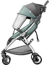 Jiji Sillas de Paseo Cochecito de bebé Ligero Cochecito de bebé Cochecito de niño Puede Estar en el Plano Paisaje de la Alta Carro de bebé de Cinco Puntos del cinturón de Seguridad Cochecito de bebé
