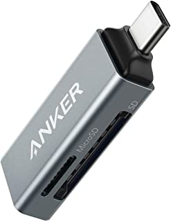 Anker USB-C 2-in-1 カードリーダー【SDXC / SDHC / SD / MMC / RS-MMC / microSDXC / microSDHC / microSD / UHS-Iカード対応】