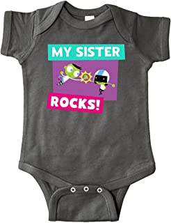 inktastic My Sister Rocks- Dee and Del High 5 Infant Creeper - PBS Kids