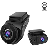 Vantrue S1 4k Dash Cam, Dual 1080P Front and Rear Car Camera with Built in GPS, Parking Monitor