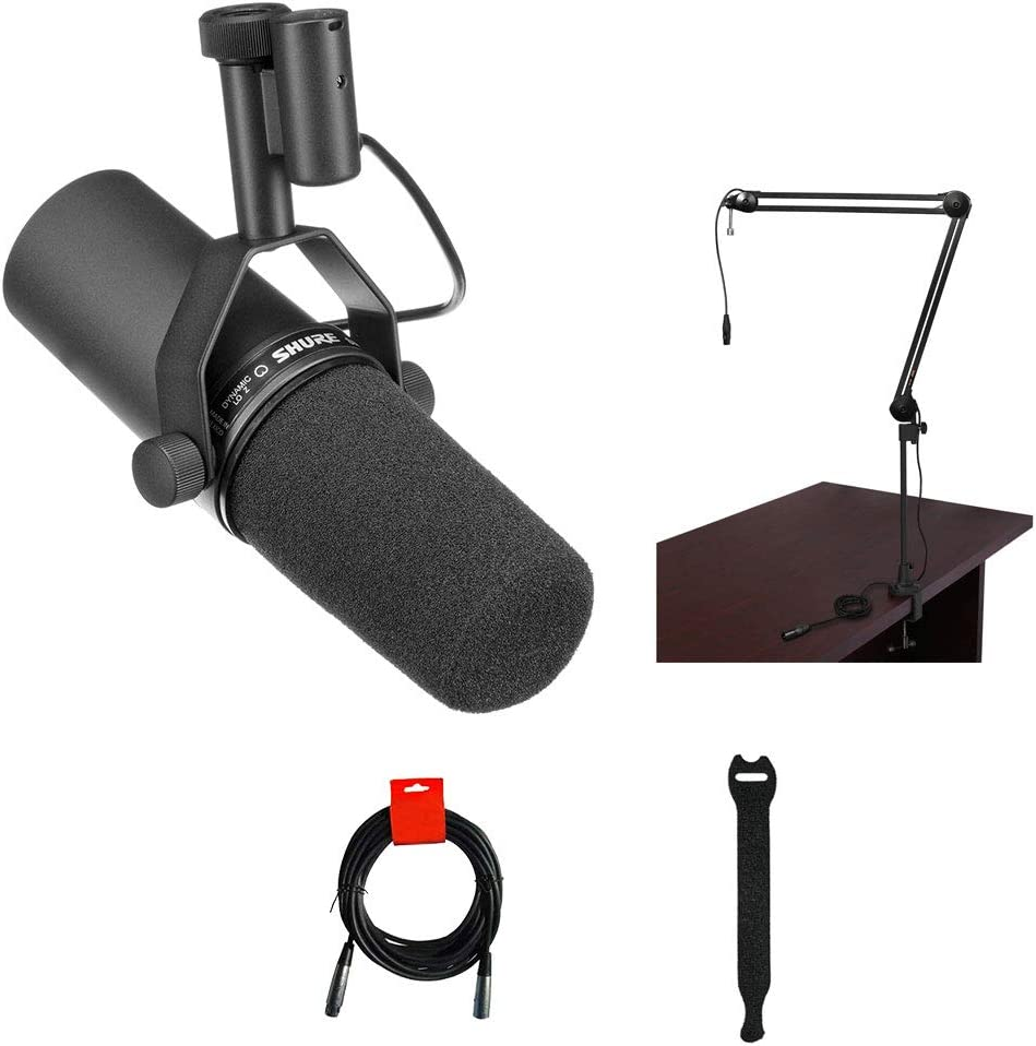 Shure SM7B Cardioid Dynamic Vocal Two-Section with Outlet OFFer sale feature Microphone Br