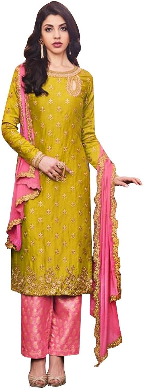 Bollywood Collection Anarkali Salwar Kameez Ceremony Women Patyala Punjabi 739